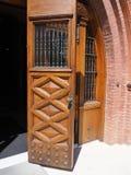 Beautiful old wood doors Stock Photos