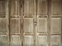 Beautiful old wooden door texture background Royalty Free Stock Images