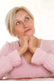 Beautiful older woman Stock Photo