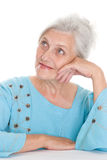 Beautiful older woman Royalty Free Stock Photography