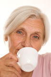 Beautiful older woman Royalty Free Stock Image