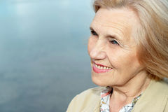 Beautiful older woman Stock Photography