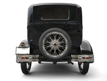 Beautiful oldtimer car - back view Stock Image