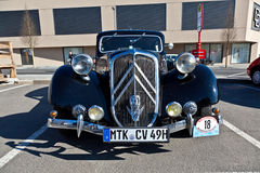 Beautiful oldtimer take place Stock Photos