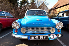 Beautiful oldtimer take place Royalty Free Stock Images