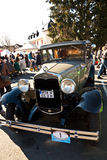 Beautiful oldtimer takes place in the MTK Classics 2011 Royalty Free Stock Image