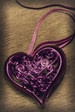 Beautiful openwork heart Royalty Free Stock Photo