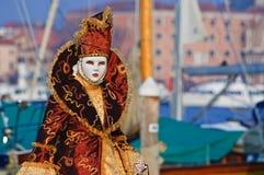 Beautiful orange mask Stock Photos