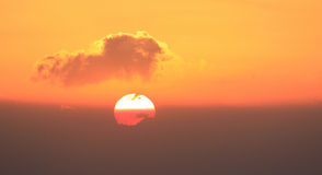 Bushfire Sunrise Stock Images