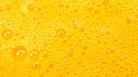 Beautiful orange texture bubbles. Background Royalty Free Stock Image