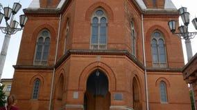 Beautiful Organ Hall stock footage
