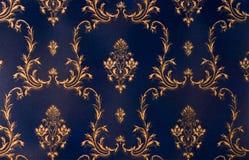 Beautiful organic pattern. Damask wallpaper with beautiful organic pattern Stock Images