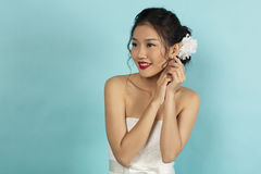 Beautiful Oriental Bride royalty free stock image