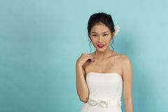 Beautiful Oriental Bride stock image