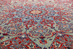Beautiful oriental carpet Royalty Free Stock Photos