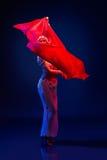 Beautiful oriental dancer Stock Photo