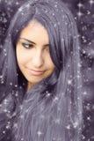 Beautiful oriental girl Stock Photos