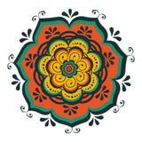 Beautiful oriental mandala Stock Image
