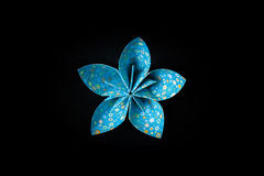 Beautiful origami flower structure Royalty Free Stock Photo
