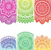 Beautiful Indian ornament Royalty Free Stock Photography
