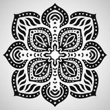 Beautiful ornament on white background. Vector illustration royalty free illustration