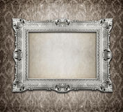 Beautiful ornamental frame royalty free stock photo