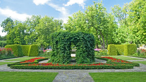 Beautiful ornamental garden Royalty Free Stock Photography