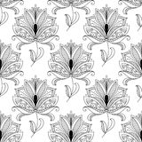Beautiful ornate dainty floral Royalty Free Stock Photo