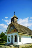 Beautiful orthodox church. Old traditional orthodox church with authentic style Royalty Free Stock Photo