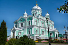 Beautiful orthodox church Stock Images