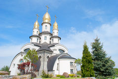 Beautiful orthodox church Royalty Free Stock Photos