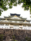 Beautiful Osaka castle, Osaka Japan 1 Royalty Free Stock Image