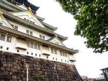 Beautiful Osaka castle, Osaka Japan 9 Stock Images