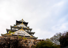 Beautiful Osaka castle, Osaka Japan 10 Royalty Free Stock Photo