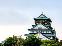 Beautiful Osaka castle, Osaka Japan 5 Stock Images
