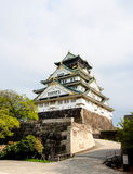 Beautiful Osaka castle, Osaka Japan 10 Royalty Free Stock Image