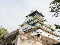 Beautiful Osaka castle, Osaka Japan 9 Royalty Free Stock Photography