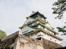 Beautiful Osaka castle, Osaka Japan 8 Royalty Free Stock Photography