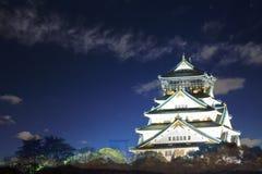 Beautiful Osaka Castle in Osaka with nice background, Japan Stock Photos