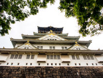 Beautiful Osaka castle in spring season, Osaka Japan 1 Stock Image