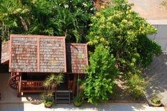 Beautiful outdoor design place Stock Photo