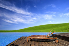 Beautiful outdoor space Royalty Free Stock Images