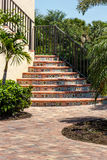 Beautiful outdoor stairway Stock Photography
