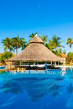 Beautiful outdoors pool at a hotel in Cuba Stock Photography