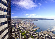 Beautiful overview from columbia tower Royalty Free Stock Image