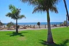 Beautiful Pacific Palisades Park Royalty Free Stock Photo