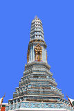 Beautiful pagoda. With blue sky background Royalty Free Stock Photography