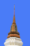 Beautiful pagoda. With blue sky background Royalty Free Stock Images