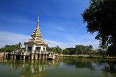 Beautiful pagoda on a lake Royalty Free Stock Photo