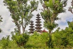 Beautiful pagodas hindu temples, Nusa Penida-Bali, Indonesia Stock Images